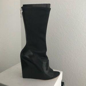 Alexander Wang wedge boots